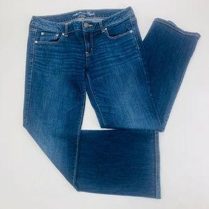 American Eagle Womens Jeans 14 Blue Favorite Boy